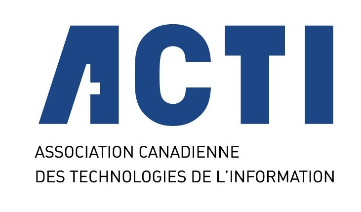 Logo français de l'Association canadienne de la technologie de l'information (ACTI)