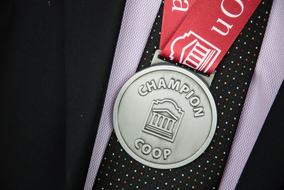 CO-OP Champion medal