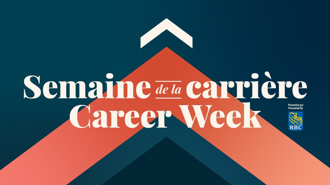 Branding of Career Week presented by RBC
