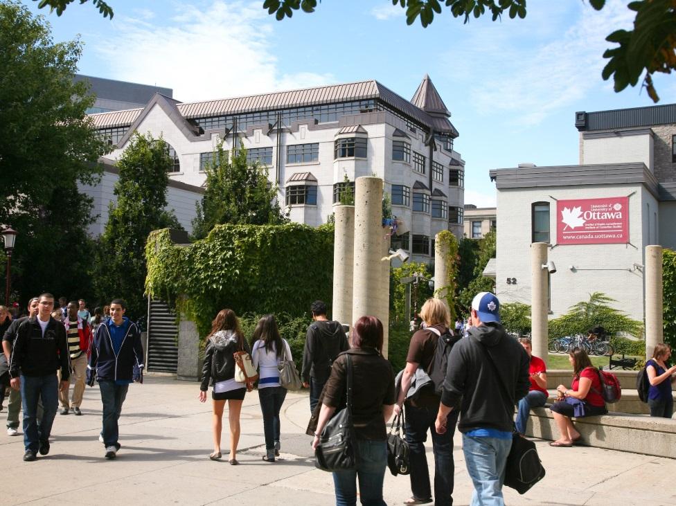 University of Ottawa's campus