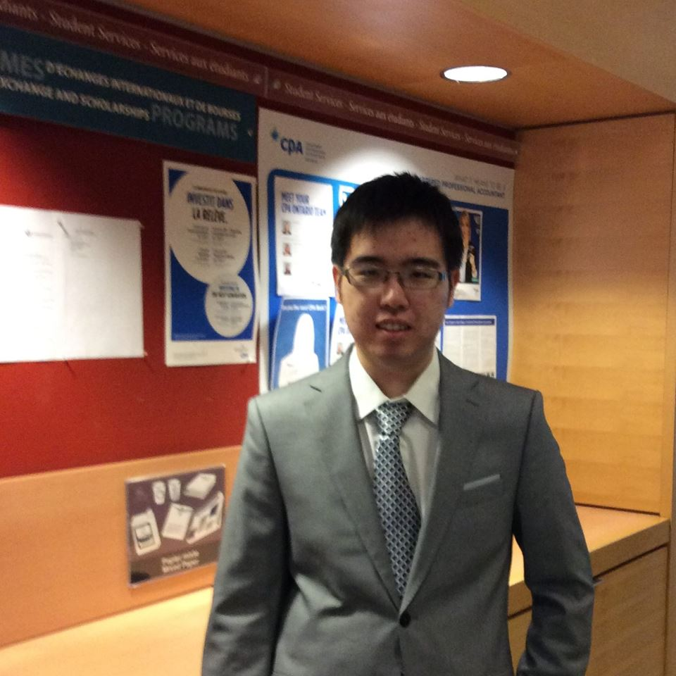 Tianze Gao - Étudiant programme d'entrepreneuriat coop uOttawa RBC